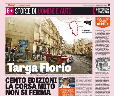 Targa Florio – CENTO EDIZIONI LA CORSA MITO NON SI FERMA