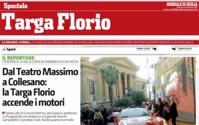 Giornale di Sicilia –  SPECIALE TARGA FLORIO 101^
