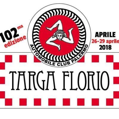 102^ edizione della Targa Florio dal 26 al 29 aprile 2018
