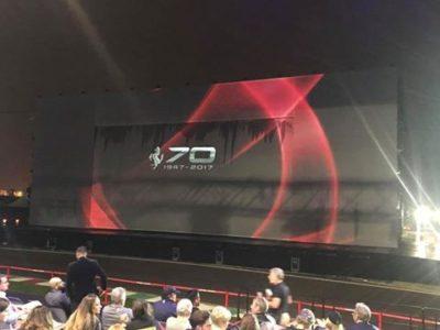 70^ Anniversario della Ferrari