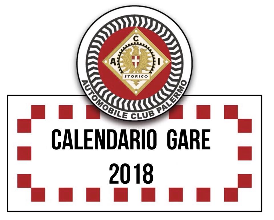 Calendario Sportivo.Calendario Sportivo Del 2018 Automobile Club Palermo