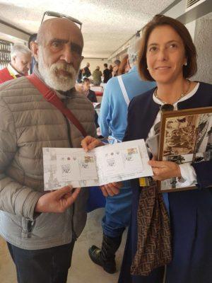 ANCHE IN QUESTA OCCASIONE e' disponibile l'annullo filatelico e le cartoline dedicate alla XIX Targa Florio Motociclistica