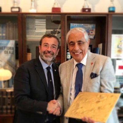 Gradita visita di Tommaso Dragotto, patron della Sicily by Car e Autoeuropa