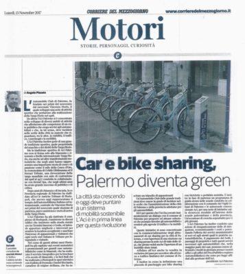 SUL CORRIERE MOTORI, nel Corriere della Sera, c'e' in prima pagina l'editoriale del presidente Angelo Pizzuto sulle attivita' dell'ente che presiedo.
