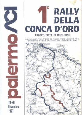 1° RALLY DELLA CONCA D'ORO – Trofeo città di Corleone