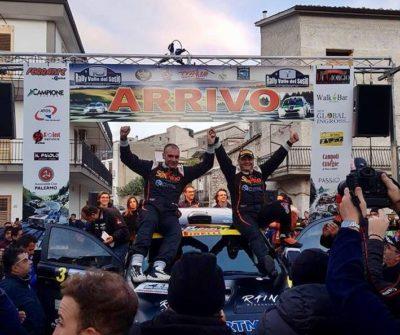 CONGRATULAZIONI AI NOSTRI TESSERATI Toto' Riolo e Gianfranco Rappa che vincono la 10^ Edizione del Rally del Sosio