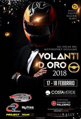VOLANTI D'ORO 2018 – GLI OSCAR DEL MOTORSPORT SICILIANO
