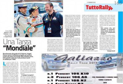 TUTTORALLY:  la posizione del presidente Angelo Pizzuto sullo sviluppo e le prospettive della Targa Florio