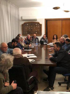 INTENSA E PARTECIPATA RIUNIONE dell'associazione dei commissari di percorso dell'A.C Palermo.