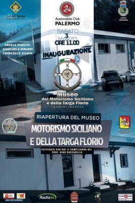 Riapertura del Museo MOTORISMO SICILIANO E DELLA TARGA FLORIO