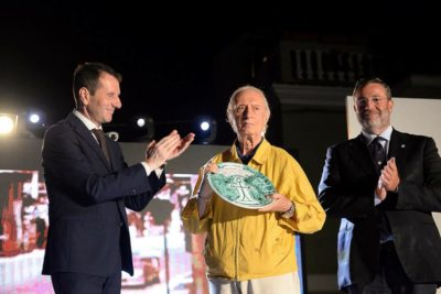 """IL Prof. Nino Vaccarella riceve a Ventimiglia di Sicilia il """"Sigillo Teodoto"""""""