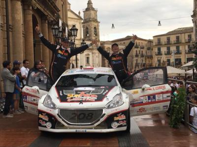 Rally di Caltanissetta al 2^ posto assoluto per Toto' Riolo e Gianfranco Rappa