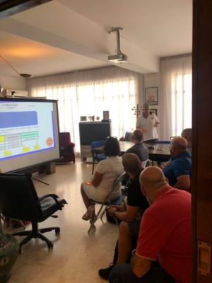 INIZIATO OGGI IN SEDE IL CORSO PER UFFICIALI DI GARA  dell'Automobile Club Palermo