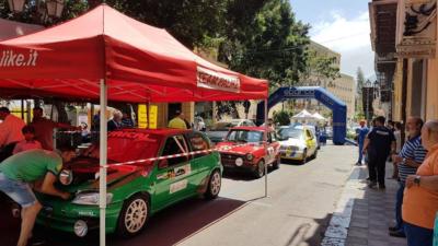 Verifiche concluse al 1° Himera Rally.