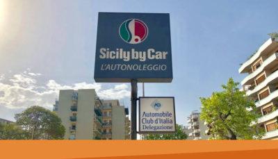 Servizi ACI nel nuovo megastore Sicily by Car a Palermo