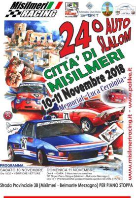 24° AUTO SLALOM – CITTA' DI MISILMERI