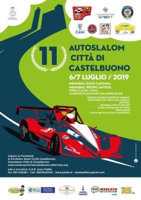 11^ edizione dell'Autoslalom Città di Castelbuono