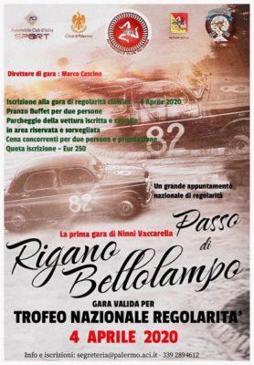 PASSO DI RIGANO BELLOLAMPO – 4 APRILE 2020